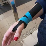 Kinesiotaping per tendinite al polso